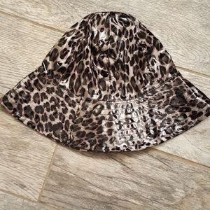San Diego Hat Co Purple Gray Leopard Rain Hat